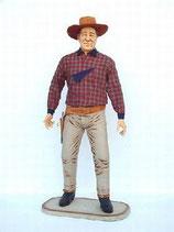 91004 Cowboy Figur lebensgroß