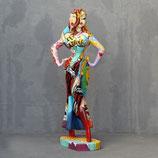 3376 VH Frauenstatue Jessy Figur lebensgroß