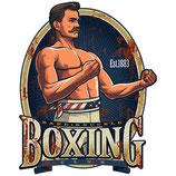 RIMP103 Blechschild Werbeschild Boxing Gastrodeko