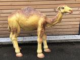 RIGZZ011 Krippe Kamel Figur steht fast lebensgroß