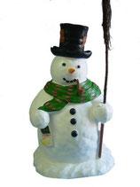 RIE31 Schneemann Figur für Weihnachtszeit und Winterzeit