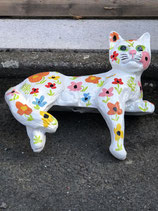 RIB227 Katze Figur Kantenkatze