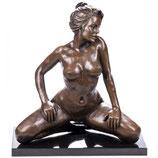 RIYB539 Erotische Bronzefigur Weiblicher Akt