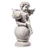 RING513 Engel Figur mit Glaslicht