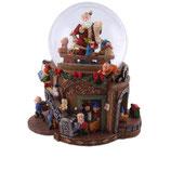 RI55114 Spieluhr Weihnachtswerkstatt 150 mm