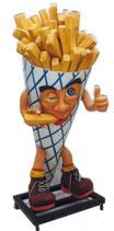 Ifb002b Pommestüte Figur Lebensgroß