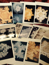 PostKartenSet Wasserkristallbilder