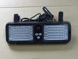 LED ストロボ フラッシュ サンバイザー取付タイプ 青