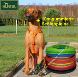 Hunter Vario Rapid orange + 10m Schleppleine