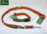 Hunter Power Grip Bronze Set Basic Halsband + Leine