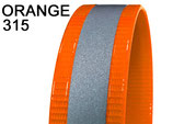 Biothane Gold REFLEX neonorange SUPERFLEX 38mm