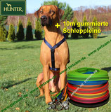 Hunter Y-Geschirr MARINE + 10m Schleppleine