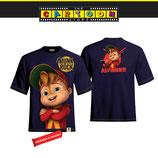 t-shirt Alvin face