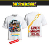 T-shirt Alvin & The Band