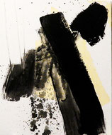 Pilgern Wandern 2 - auf 40 x 50 cm mdf Platte für Bilderrahmen