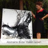 Ihr eigenes abstraktes Bild MALEN LASSEN