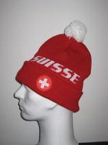 Swiss Kult Mütze - Bommelmütze