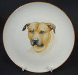 Hundeportrait (Wandteller)