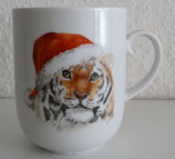 Tigerbecher (Weihnachtsversion)