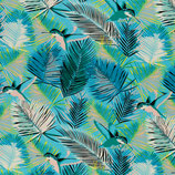Viskosejersey SELINA  Kolibri blau