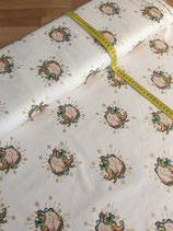 """Cotton Jersey Glitter+Foil """"Einhorn"""""""