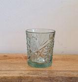 Waterglas Deco l.groen