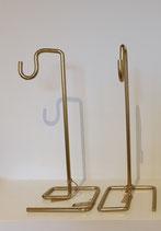 Metalen decoratie standaard - GOUD