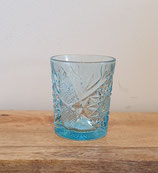 Waterglas Deco sky blue