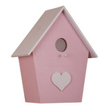 Vogelhauslampe rosa