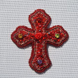Red Cross Brooch