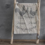 Shabby cloth haan/kippen