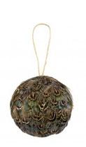 Verenbal fazant blauw 8cm