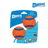 LOT DE 2 BALLES CAOUTCHOUC CHUCK IT
