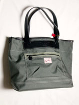 商品名THE WONDER LUST×Oynts Sports Tote Coupe (GRAY×BLACK LEATHER)