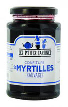 6 Confiture Myrtilles Sauvages pot de 315 gr - France