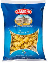 20 Pâtes italiennes Ruote n°26 paquet 500g Arrighi