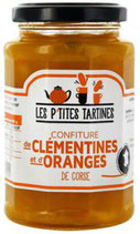 6 Confiture Clémentine-Orange de Corse pot de 315 gr - France