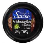 12Artichauts grillés à l'huile Savino Pot 225gr