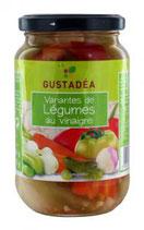 12Variante de légumes pot 37cl Gustadéa 210gr