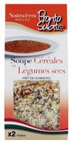 8 Soupe céréales & légumes secs paquet 150g