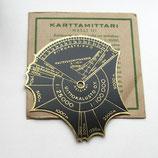 Латунная линейка для карт, Финляндия