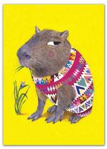 PK56 - NERVÖSES Capybara