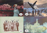 Postkarten-Set - 5 Stück