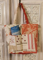 """""""Strandtasche roter Patchwork""""         The Summer Edition"""