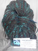 Blue Northern Lights handspun yarn