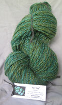 """Rose Leaf"" 2 ply  handspun"