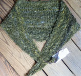 Wenonah green triangle 2 nd kid clip mohair scarf