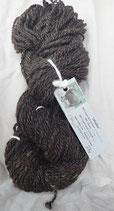 Obsidian handspun yarn