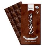 Vegane Zartbitterschokolade mit Xylit (100g)