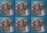 Abhängeset 6 Seile für LED Panels in 30x120 60x120